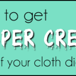 How to get diaper cream out of your #clothdiapers