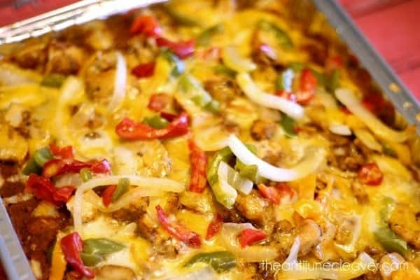 Chicken Fajita Casserole For An Easy Weeknight Meal The Anti June Cleaver