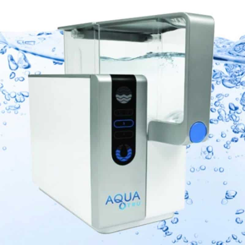 Home Reviews AquaTru Countertop Water Filter ? Bottled Water Quality ...