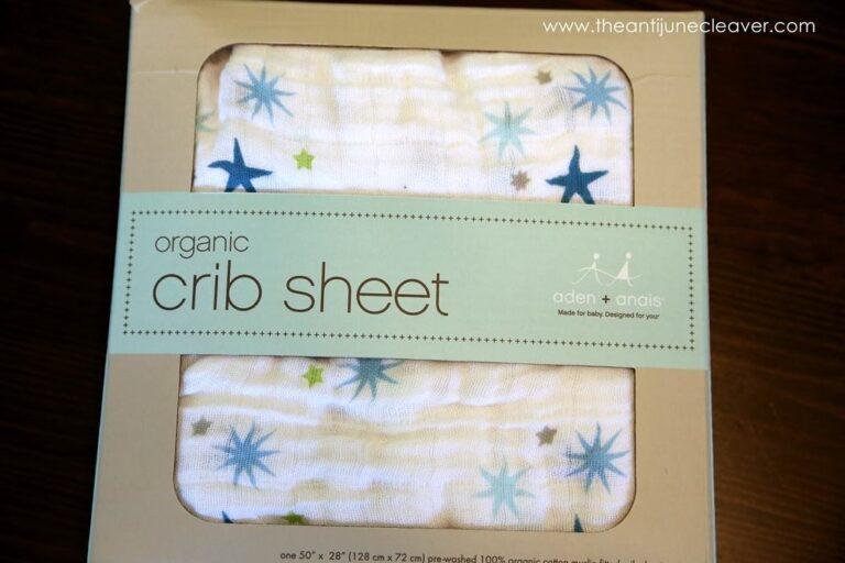 aden+anais Organic Crib Sheet Review