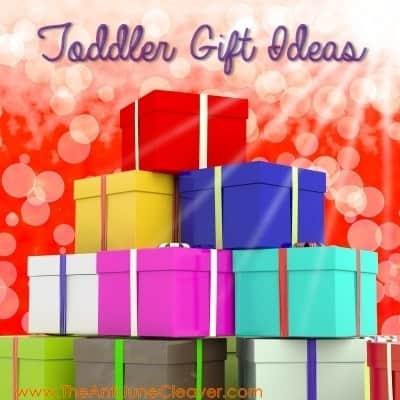 Toddler/Preschool Boy Gift Ideas