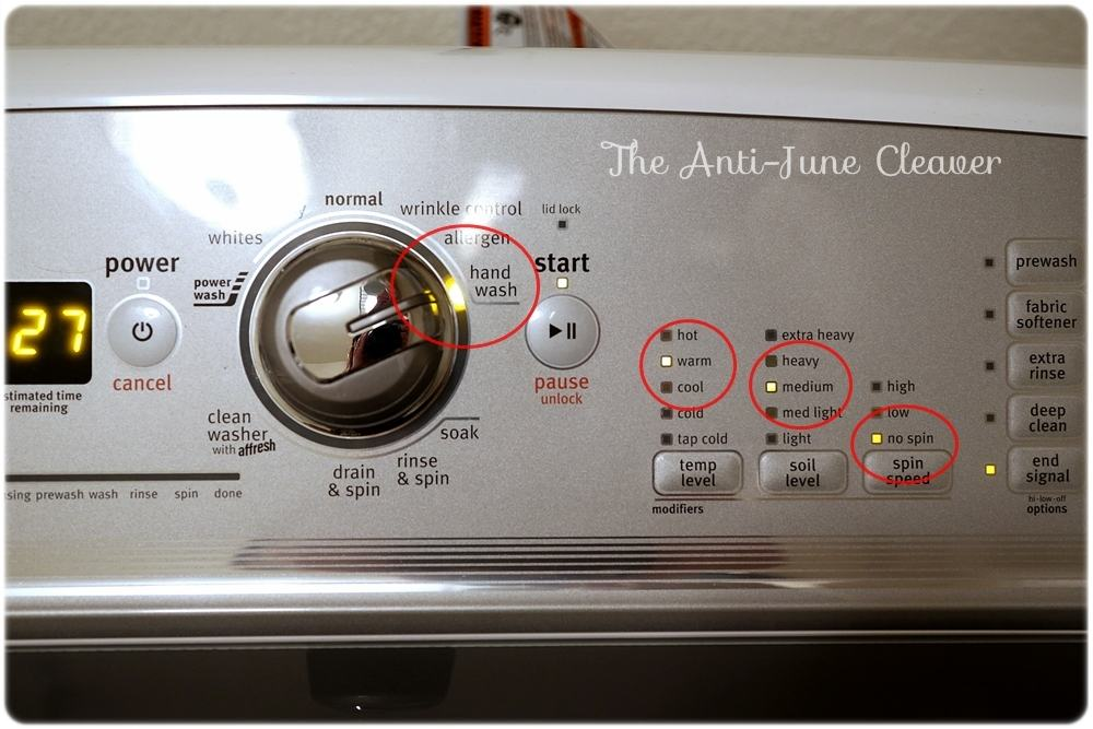 Washing Cloth Diapers - Pre-rinse