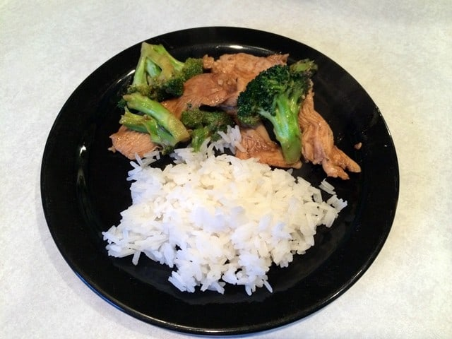 Chinese Style Chicken (or beef) and Broccoli