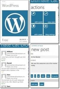 Windows Phone WordPress app