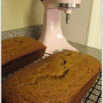 Pumpkin Bread (that happens to be Weight Watcher's friendly)