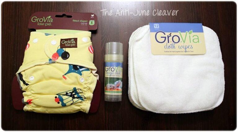 GroVia Kiwi Pie, Magic Stick & Cloth Wipes Review