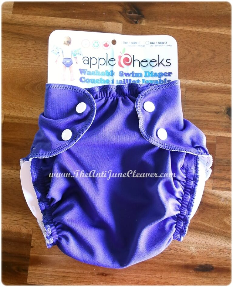 AppleCheeks Swim Diaper Review