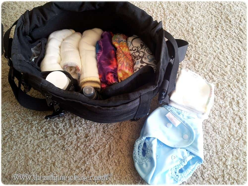 Three day weekend with #clothdiapers