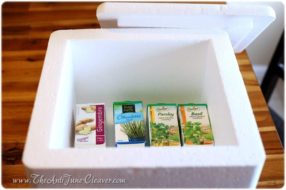 Daregal fresh frozen herbs #review