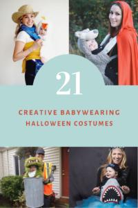 21 Babywearing Halloween costumes