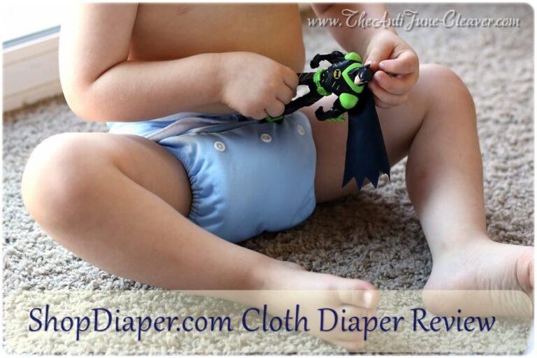 ShopDiaper Brand Cloth Diaper Review