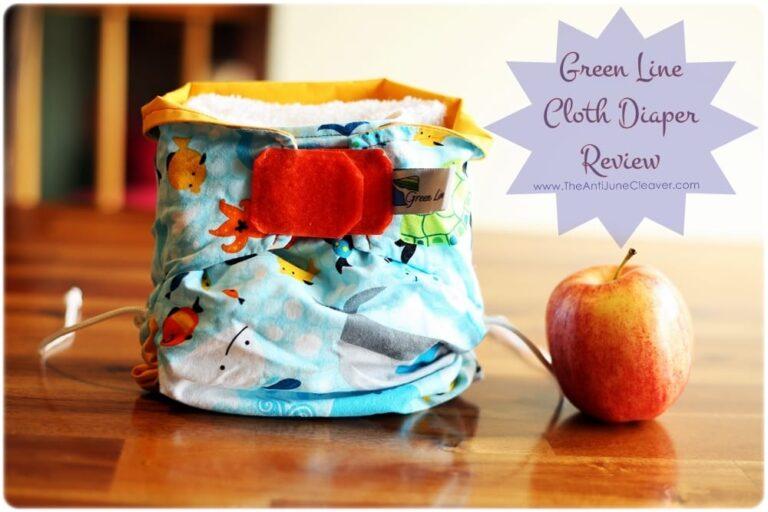 Green Line Cloth Diaper Review
