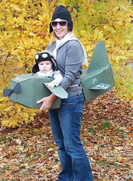 9 Creative Babywearing Halloween costumes