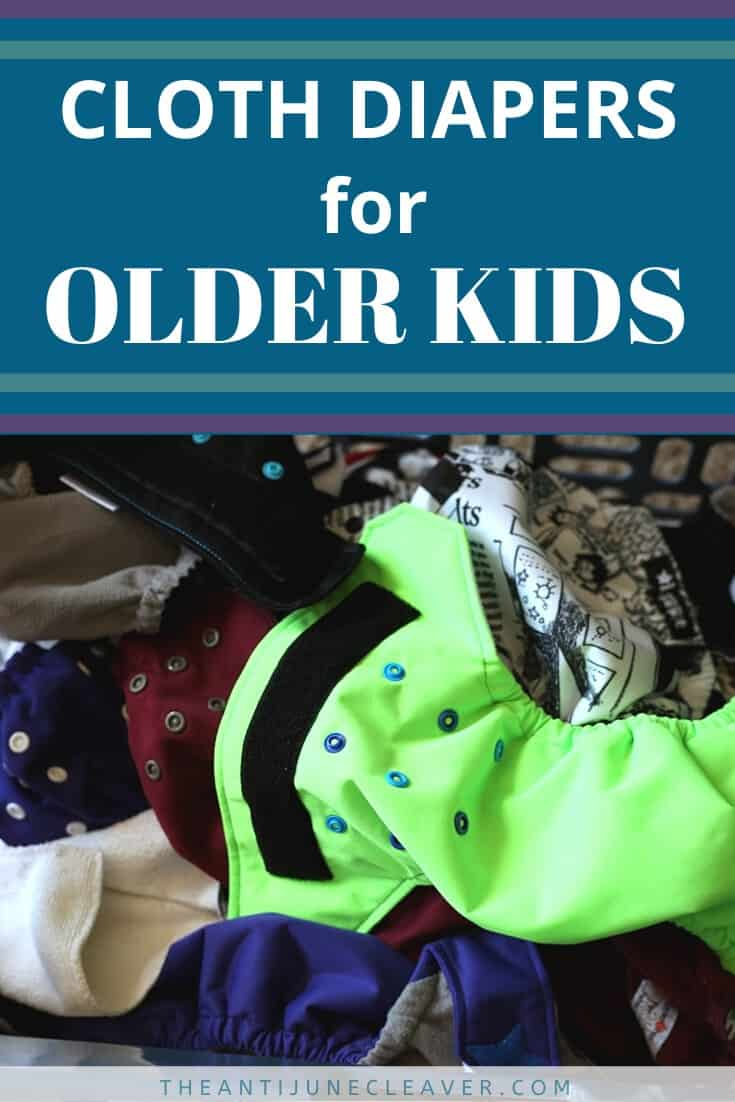 10 diapers years old at Cloth Diapers