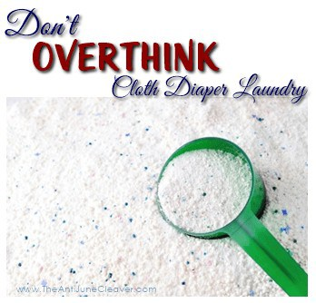 Don't Overthink Your Cloth Diaper Laundry Routine