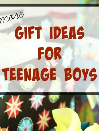 Gifts for teens: more ideas for teenage boys