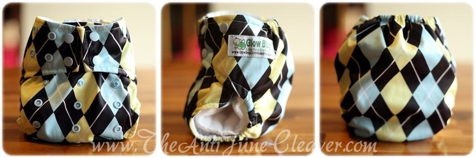 Glow Bug cloth diaper #review