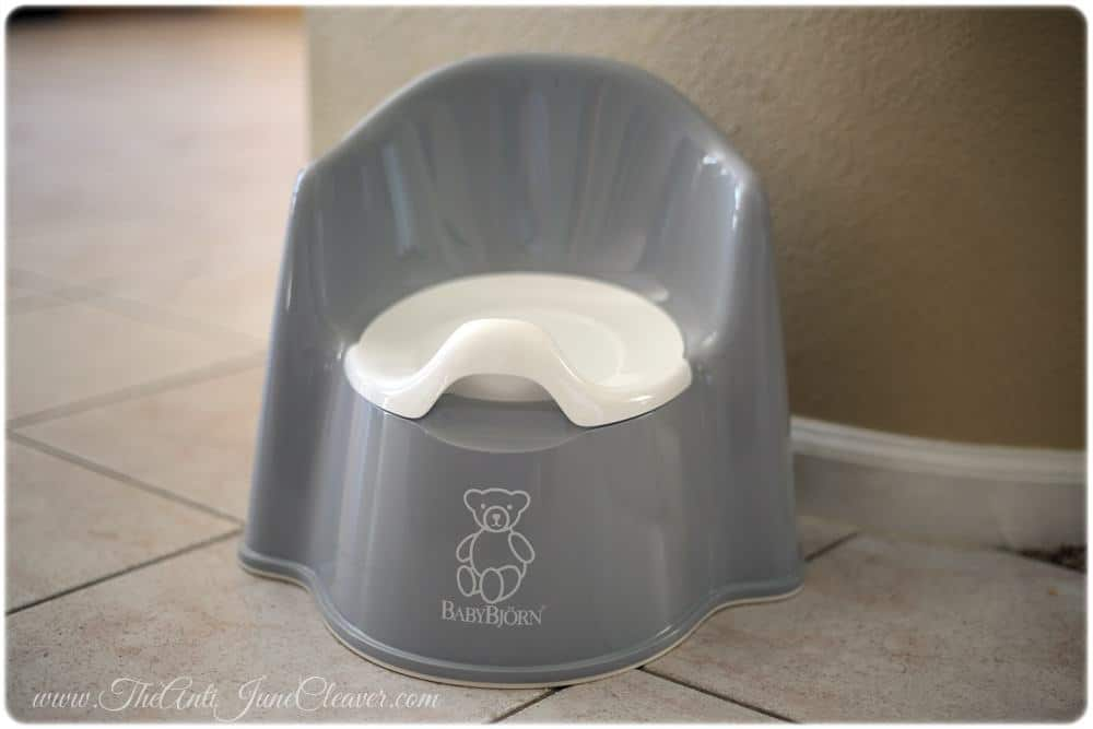 Baby Bjorn Potty Chair #review #pottytraining