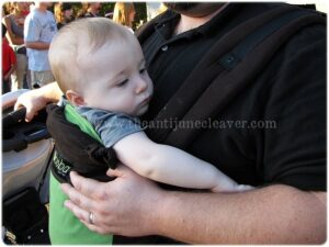 Safer Babywearing is Happier Babywearing #freedomtogether #babywearing
