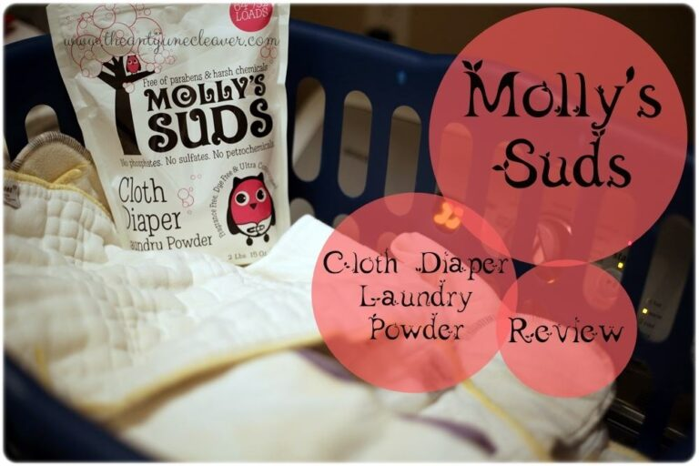 Molly's Suds Cloth Diaper Laundry Powder Review