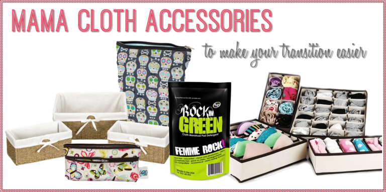 Accessories to Help Make Using Cloth Pads Even Easier