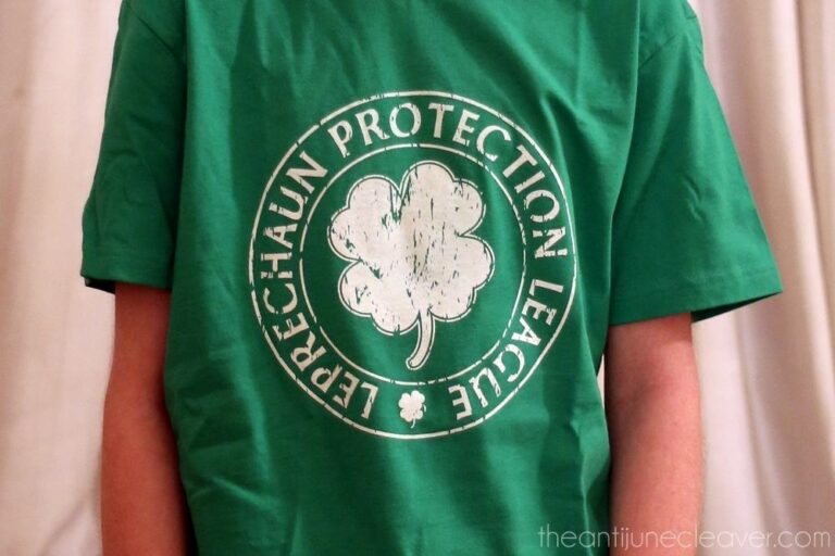 Everyone is Irish on March 17th {St. Patrick's Day T-Shirt Review}