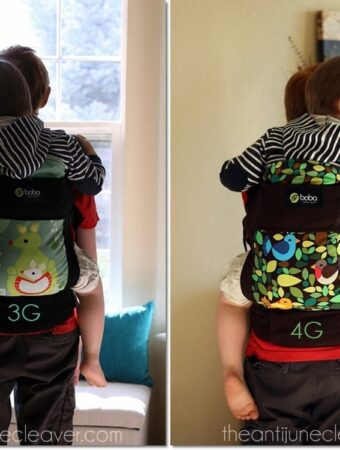 Boba 4G baby carrier #review #babywearing