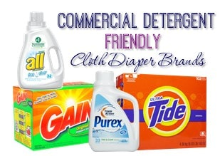 Cloth Diaper Brands that Won't Void Your Warranty for Using Mainstream Detergents