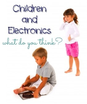 Should Young Children Be Allowed to Use Electronics?