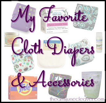 My Favorite Cloth Diapers & Accessories