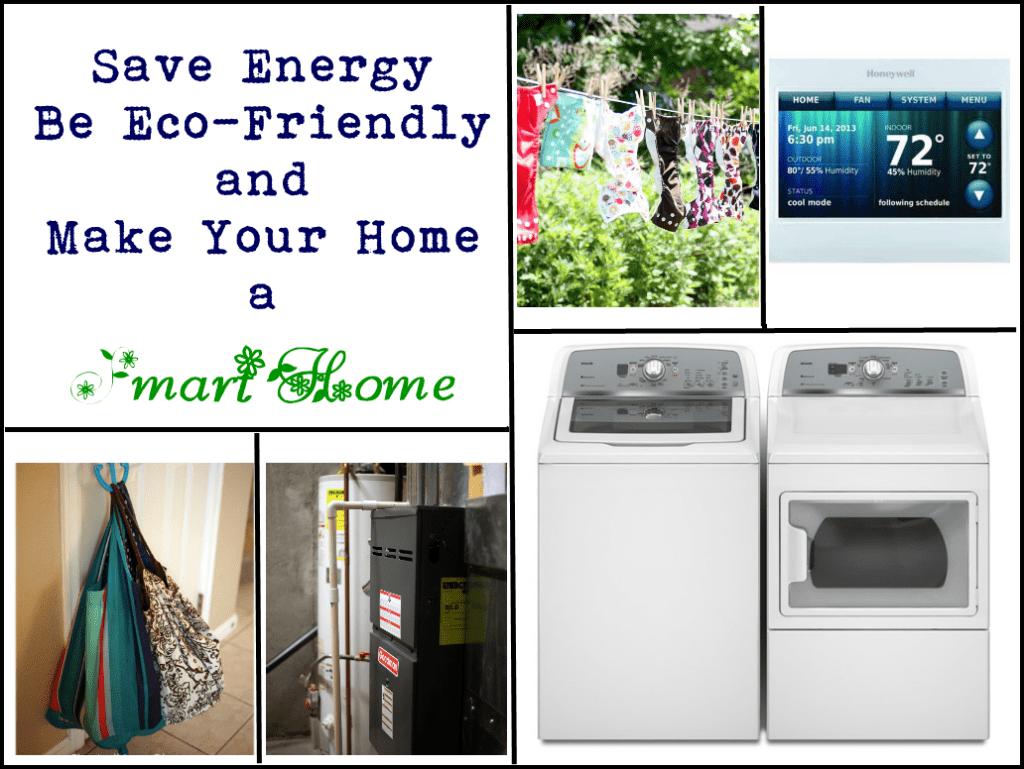 Save energy, be more eco-friendly, make your home a smart home #DEsmarthome