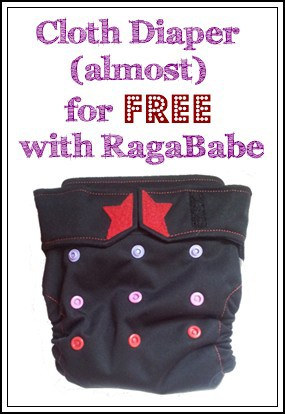 Cloth Diaper Your Baby (Almost) for Free with RagaBabe