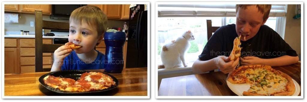 Papa Murphy's take and bake pizza #PapaMurphysMom