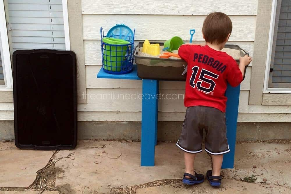 DIY Sand Table Tutorial #kids #fun