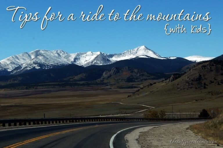 A Ride to the Mountains with Kids