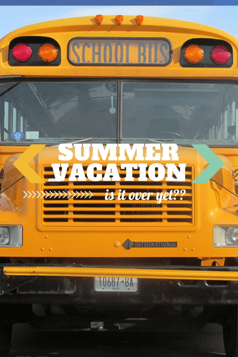 When Summer Vacation Overstays Its Welcome