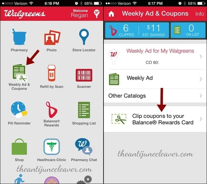 Shop smarter with paperless coupons from Walgreens #WalgreensPaperless #shop