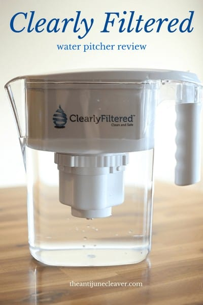 Stop Bottled Water Waste with the Clearly Filtered Water Pitcher