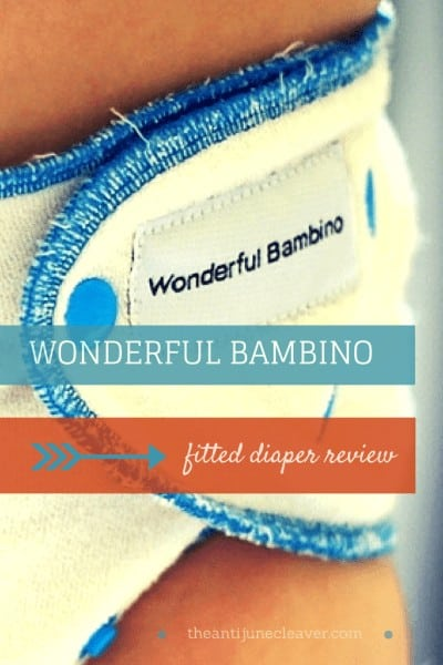 Wonderful Bambino Fitted Cloth Diaper Review