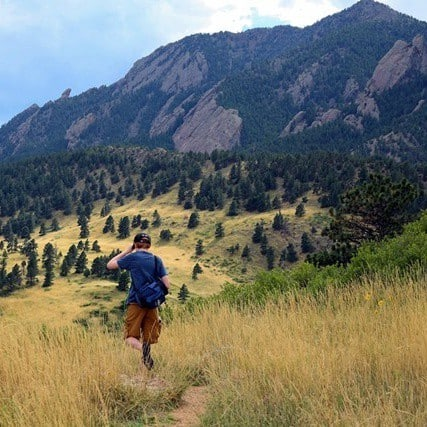 Hiking the Boulder Flat Irons with Kids