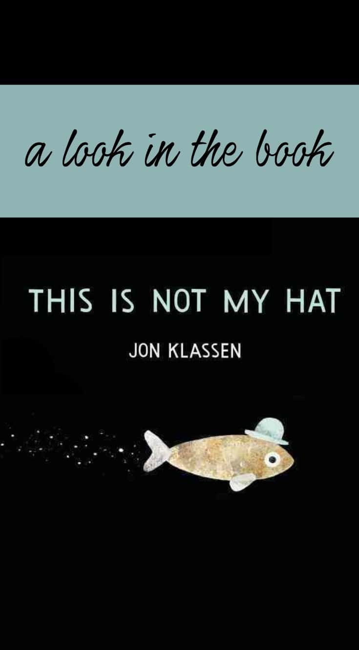 A Look in the Book: This is Not My Hat by Jon Klassen