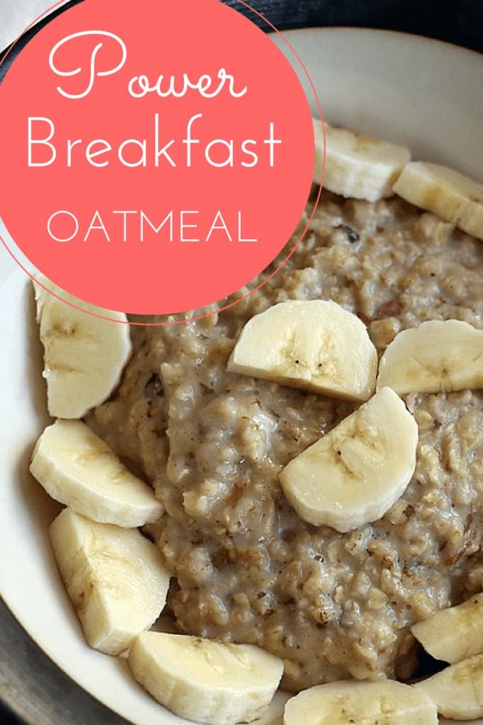 spiced oatmeal