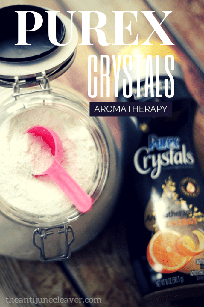 Freshen your laundry and homemade laundry detergent with Purex Crystals