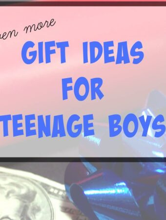 Gifts for teens: even more ideas for teenage boys