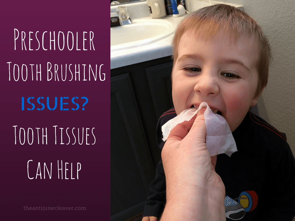 Does your toddler or preschooler hate brushing their teeth? Tooth tissues can help!