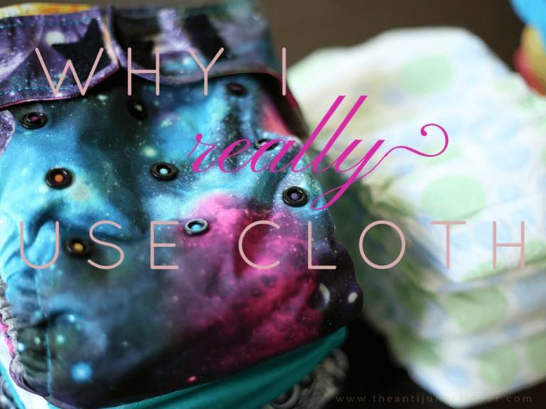 The Real Reason I Use Cloth