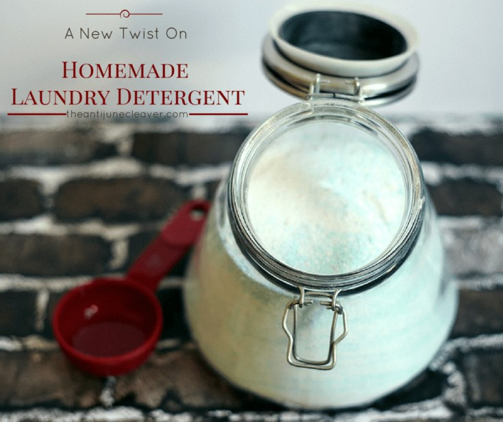 A new twist on homemade laundry detergent. This is a detergent and enzyme formula and costs just over $17 to make a big bucket.
