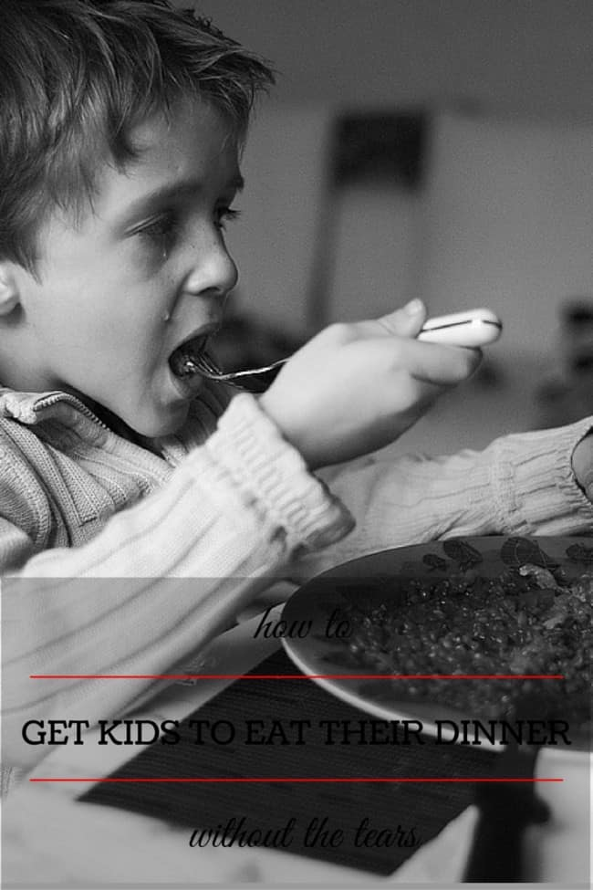 10 Tips for Getting Your Kids to Eat Their Dinner Without the Tears