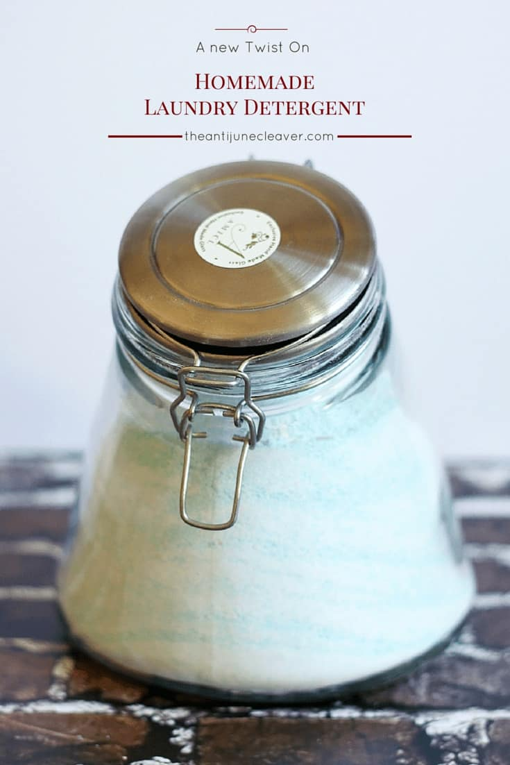 semi homemade laundry detergent