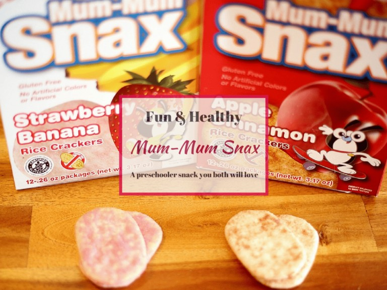 Mum-Mum Snax – A Preschooler Snack You Both Will Love